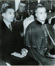 Salazar e o cardeal Cerejeira, grandes aliados