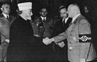 Um aperto de mão Nazislâmico
