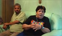 Edson Luiz e sua mãe, Dulce Conceição de Mello, 65 anos - Foto: Sidney Lopes/EM/D.A Press